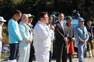実行委員を代表して宮崎県議会議員河野氏より挨拶。