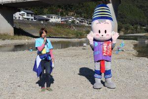 案内放送は、延岡市議会議員内田氏に毎年お願いしております。