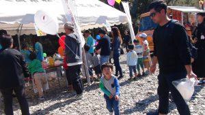 子どもは風船大好き!