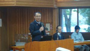 都城市 副市長 児玉宏紀様より来賓の挨拶をいただきました。