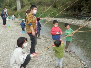 家族みんなで釣りを楽しめます♪