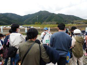 宮崎県議会議員河野哲也氏より宝探しの説明をしていただきました。