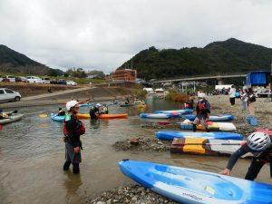 矢野純一氏が率いる北川流域ネットさん!いつもありがとうございます!